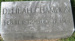 Delilah Champion
