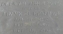 Delilah Ann <I>Enzor</I> Champion