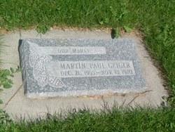 Martin Paul Geiger