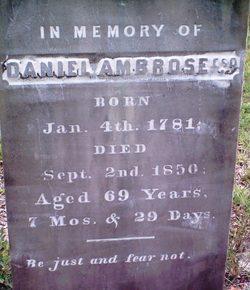 Daniel Ambrose