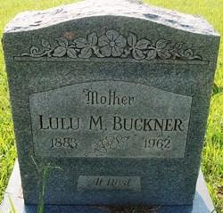 Lulu Mae <I>Langston</I> Buckner