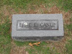 "Ethel Elizabeth ""Effie"" <I>Mustain</I> Canup"