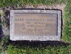 Marie C. <I>Marshall</I> Cornell