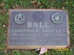 Delilah Gladys <I>Shaffer</I> Ball
