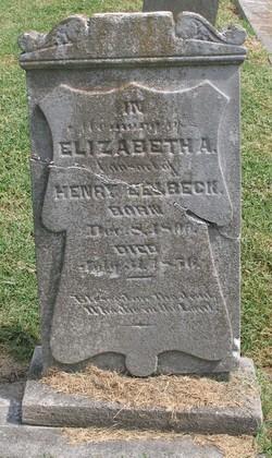 Elizabeth A. <I>Carter</I> Eelbeck