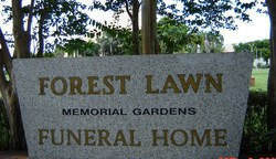 Forest Lawn Memorial Gardens South