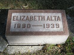 Elizabeth Alta Wright