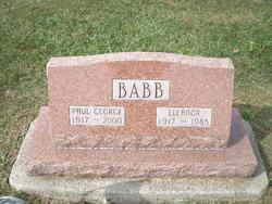 Eleanor Ruth <I>Berg</I> Babb
