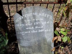 Matthew Livingston Keith