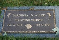 Virginia Delphia <I>Taylor</I> Allee