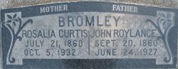 Rosalie <I>Curtis</I> Bromley