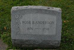 Rose <I>Bauer</I> Anderson