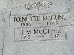 Horace M McCune