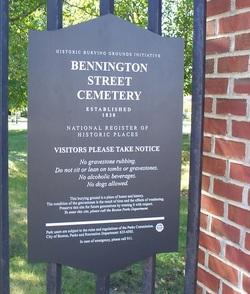 Bennington Street Cemetery