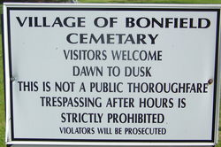 Bonfield Cemetery