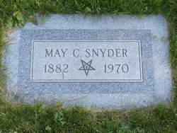 May Claira <I>Redd</I> Snyder