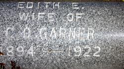 Edith <I>Bolsby</I> Garner