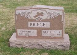 Gertrude Agnes <I>Gast</I> Kriegel