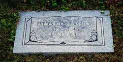 Evelyn Martha <I>Kilmer</I> Ashton