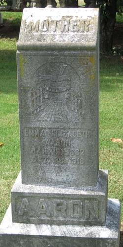 Emma Elizabeth Aaron
