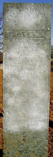 Nancy Lucinda Jane Abernathy
