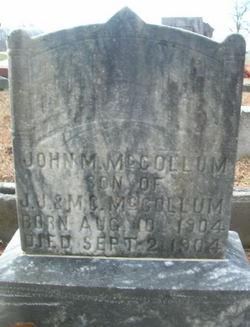 John M McCollum