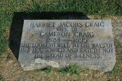 Harriet Franklin <I>Jacobs</I> Craig