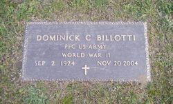 Dominick C Billotti