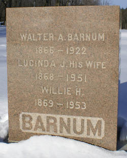 """William Hewitt """"Willie"""" Barnum"""