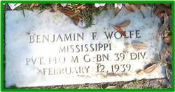 Benjamin Franklin Wolfe