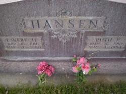 Ruth <I>Parker</I> Hansen