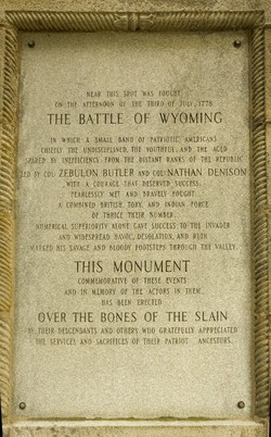 Battle of Wyoming Burial Ground