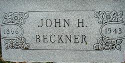 John Henry Beckner