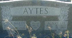 Della Mattie <I>Robertson</I> Aytes