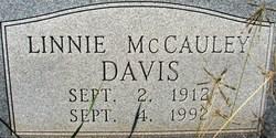 Linnie <I>McCauley</I> Davis