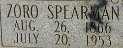 Zoro Spearman Adams