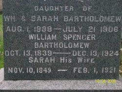 Sarah <I>Biggart</I> Bartholomew