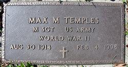 Max Morris Temples