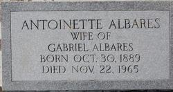 Antoinette <I>Hebert</I> Albares