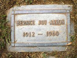 Bernice Joy Aaron