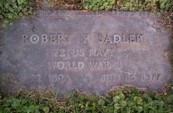 """Robert Presley """"Pat"""" Sadler"""