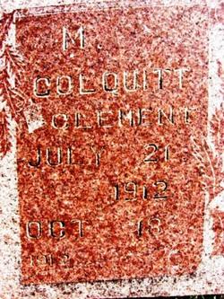 M. Colquitt Clement