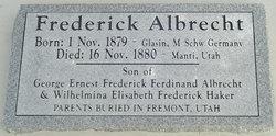 Frederick Wilhelm Carl Albrecht