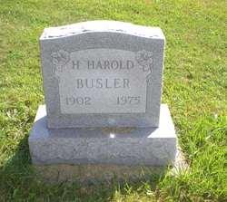 H Harold Busler