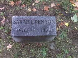 Sarah L. <I>Rooney</I> Kenyon