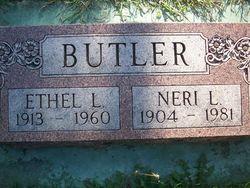 Ethel Louise <I>Shinn</I> Butler