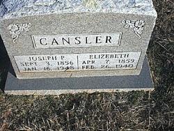 Joseph Pinkney Cansler