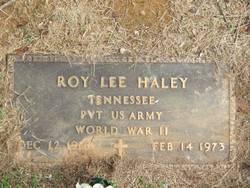 Roy Lee Haley