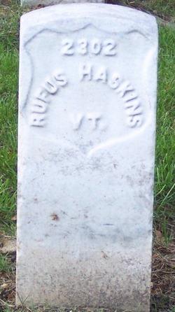 PVT Rufus Haskins