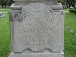 Mary Rebecca <I>Ross</I> Barnard